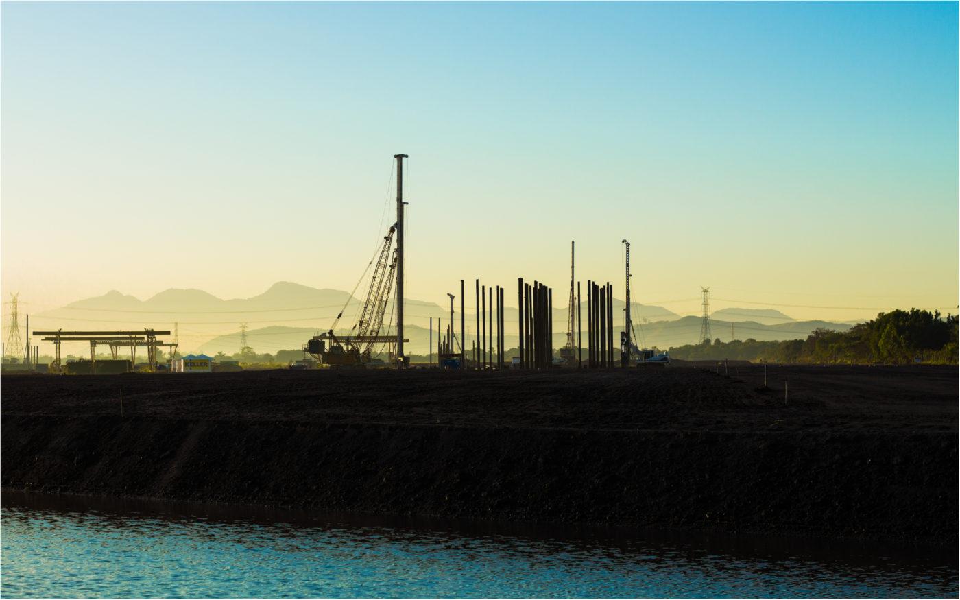 Edição de foto construção civil