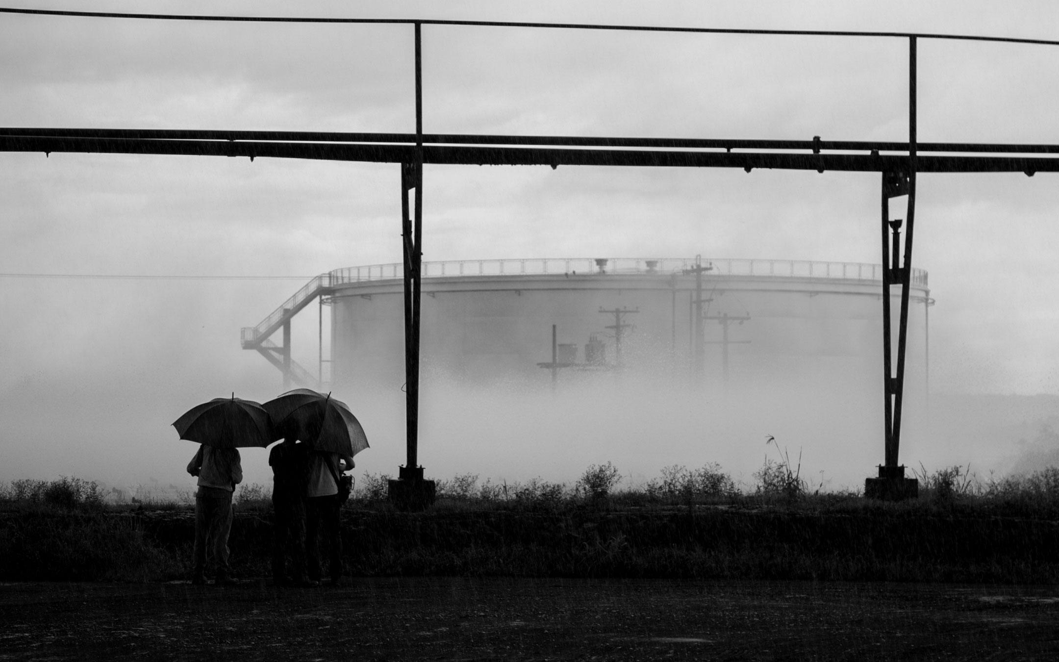 Fotografia industrial | Tonéis de Etanol