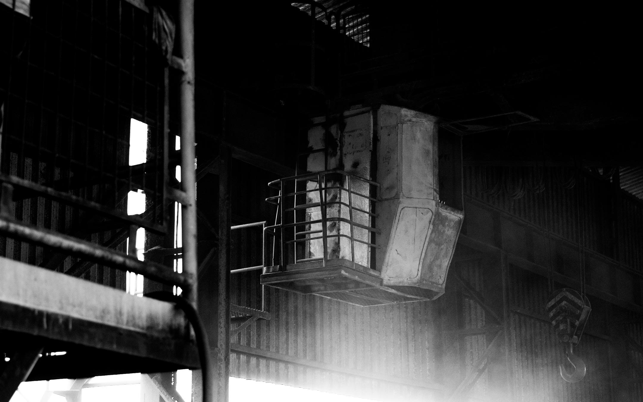 Fotografia Industrial | Carro de manutenção